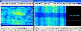 Отсутствие трех тонов точно по середине спектра