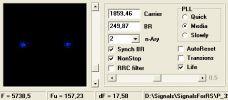 Созвездие сигнала со скоростью 250 Гц