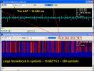 ACF сигнала и вид в VMW