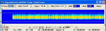 Выделение сигнала узкополосным фильтром