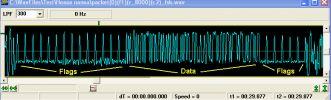 Форма после частотного демодулятора